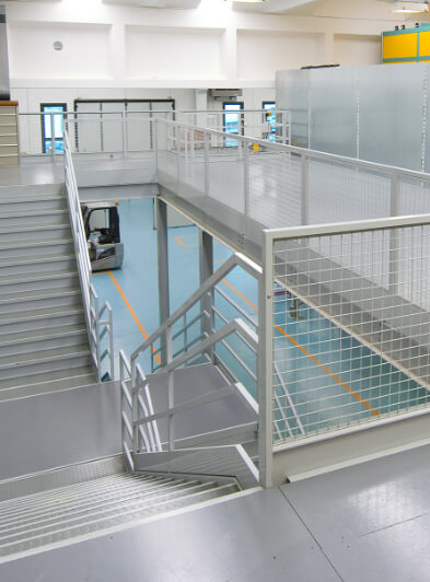 Stairs , gates and balustrades
