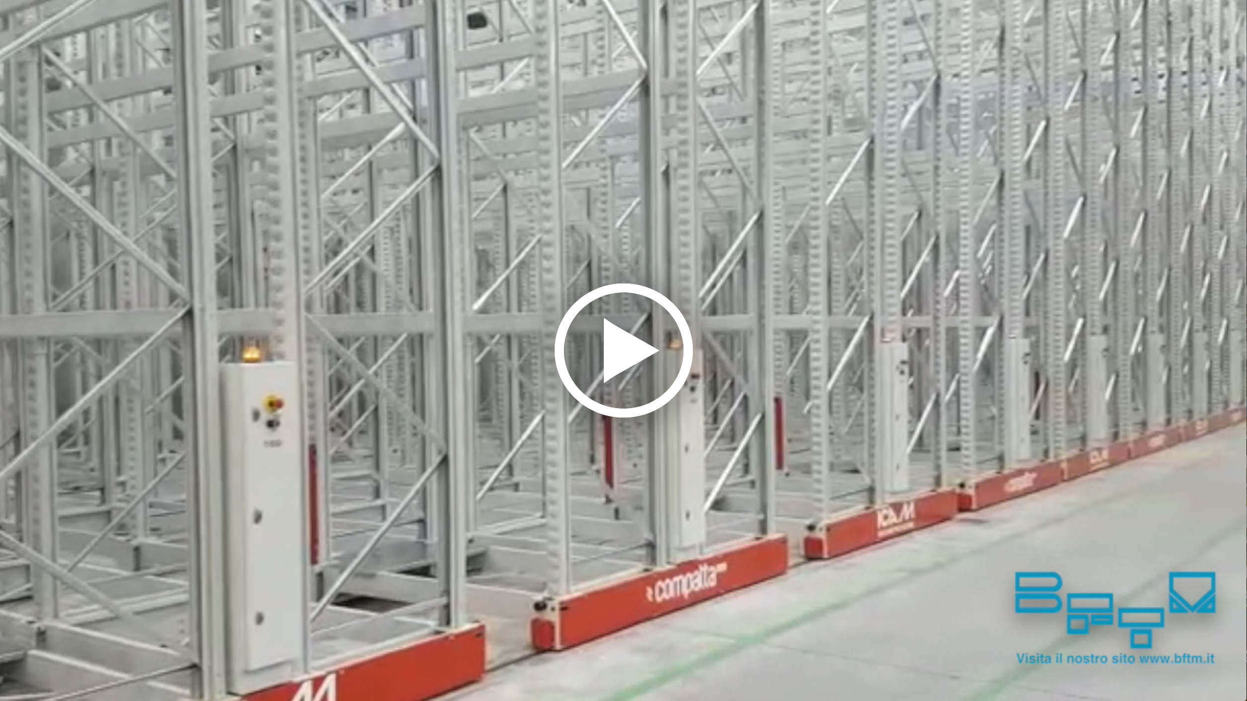 BFTM manufactures an important mobile racking system