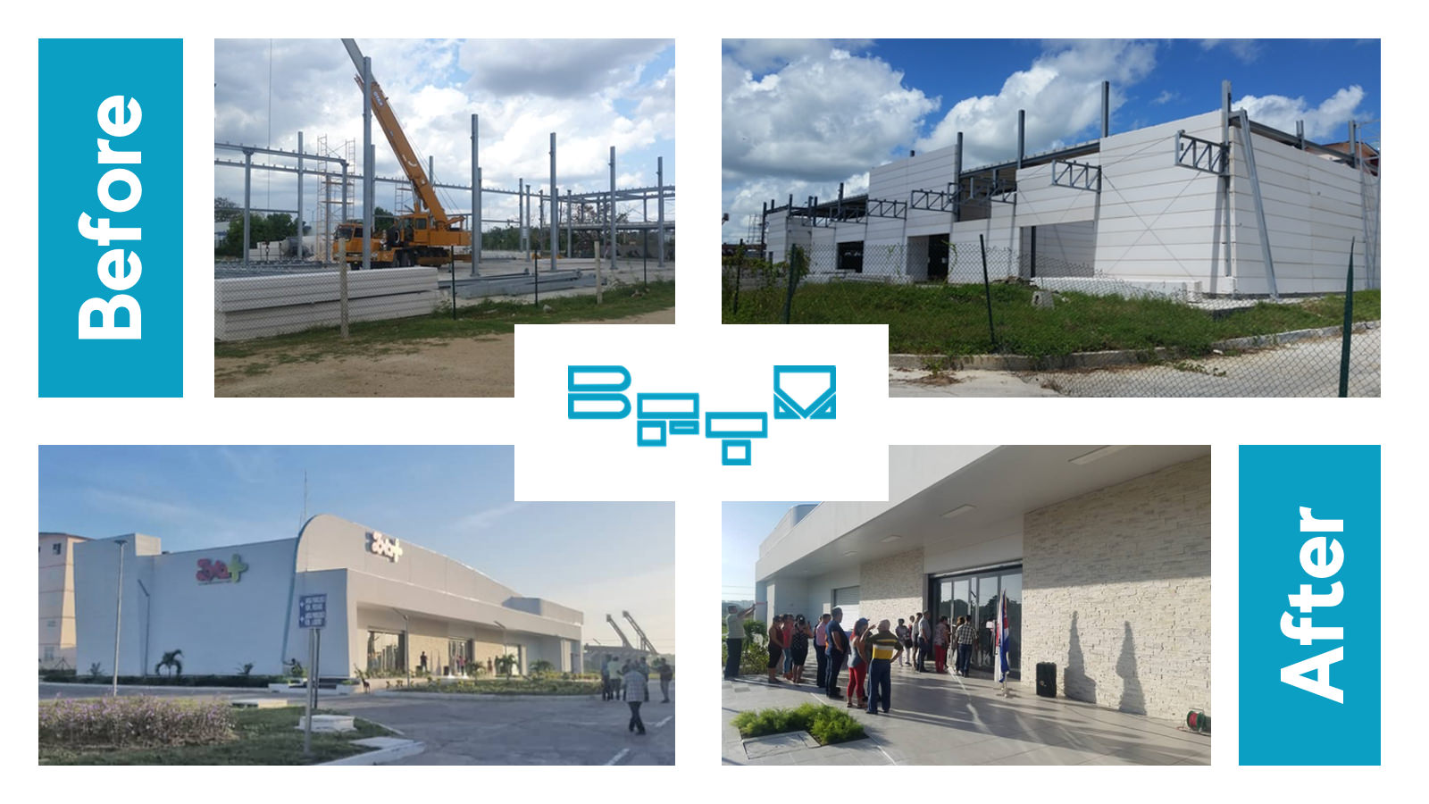 The shopping center in Latin America has ended: an example of a steel work created by BFTM