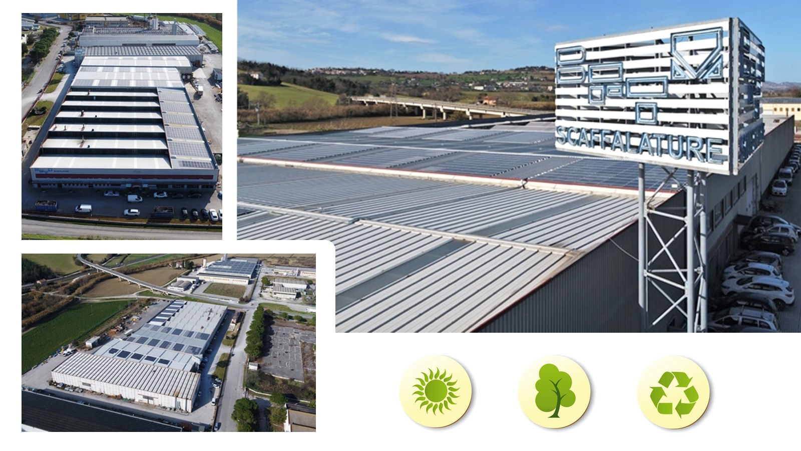 BFTM more green with the installation of the photovoltaic system