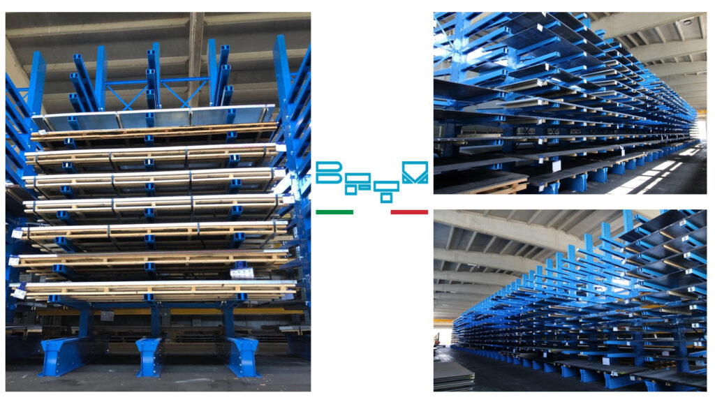 Lamiera Più chooses Bftm solutions for the new warehouse