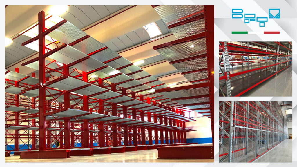 Preparation of a new warehouse for a company in the Packaging sector